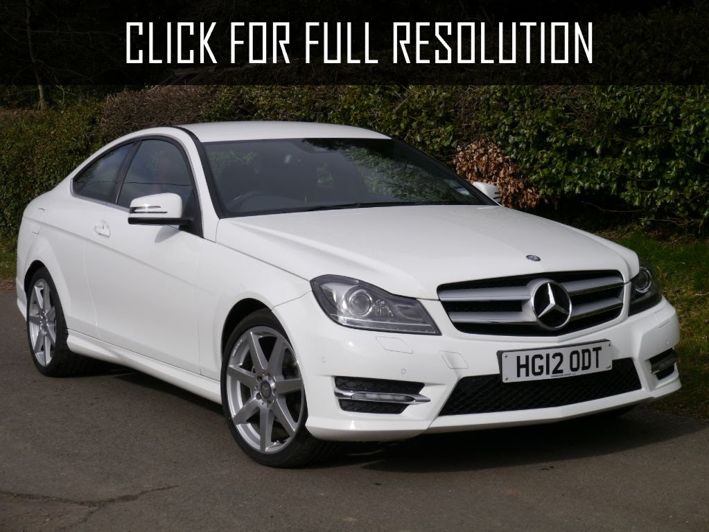 Mercedes Benz C Class White - amazing photo gallery, some ...