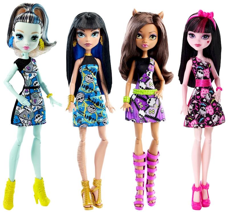 Nuevas Muñecas Monster High Básicas Shop Monster High Doll