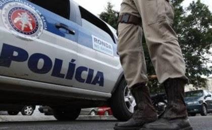 Policiais militares faziam ronda a pé quando foram atingidos (Foto: Ilustrativa)