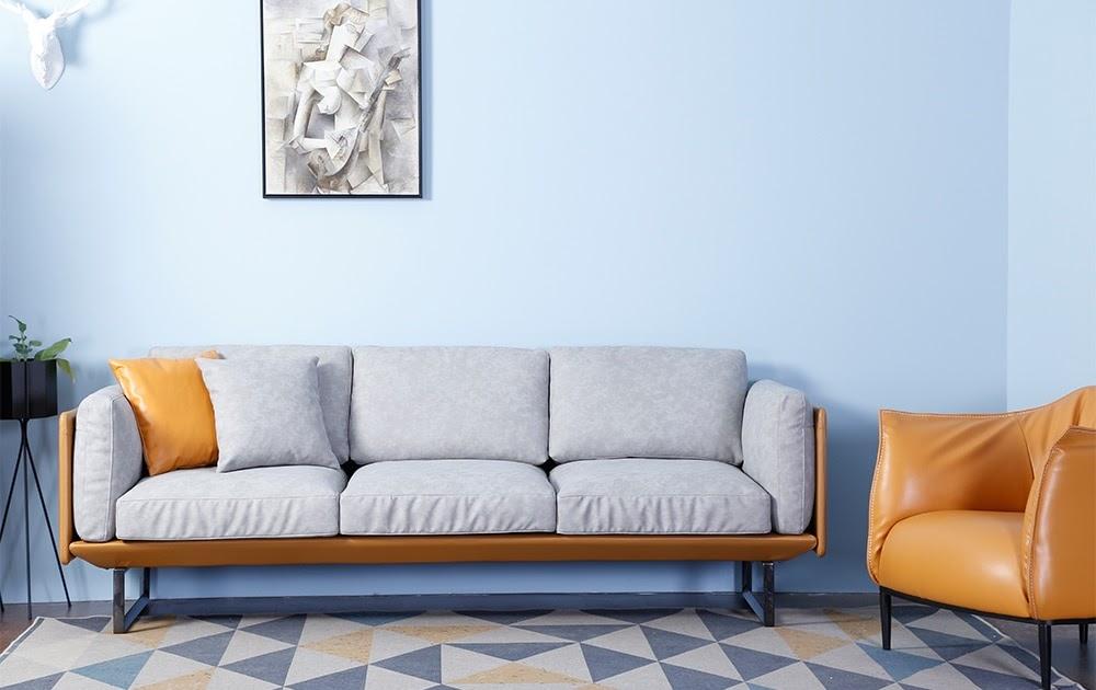 Beste kopen luxe modern hotel lobby itali euml nappa lederen sofa
