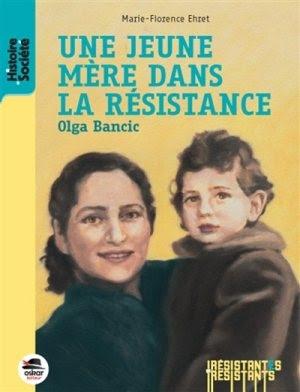 Couverture Olga Bancic : Une jeune mère dans la Résistance