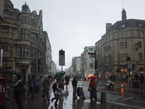 Rainy Oxford