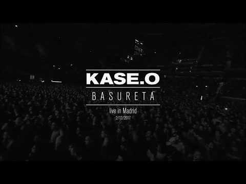 KASE.O - BASURETA (Directo) (Oficial Vídeo En Vivo) 2018 [España]