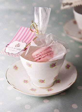 Tea and Macarons ~ party favor.idea   Tea Party