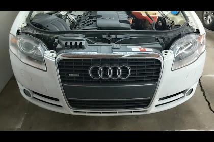 Audi A4 B7 Front Bumper Removal
