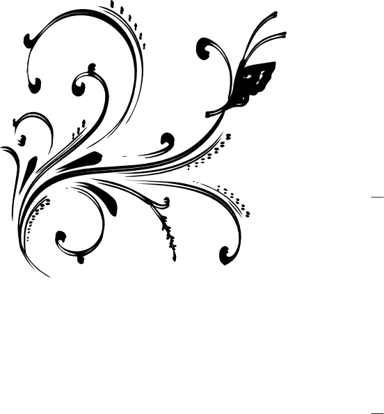 Design Black And White Clipart
