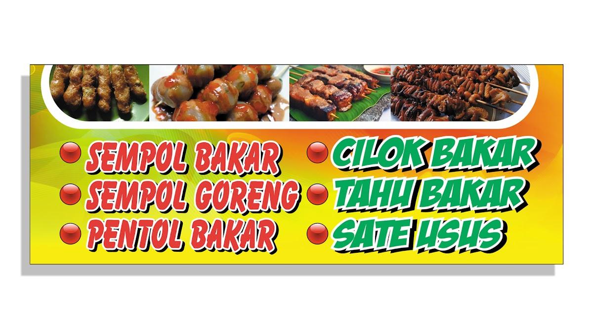Gambar Banner Makanan - desain banner kekinian