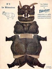 bledine rhinocéros
