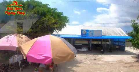 Đẹp quá đường từ Rạch Giá về Kiên Giang trao tiền các MTQ SGNN phụ xây cầu cho người nghèo
