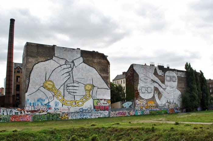 Street Art And Graffiti Before And After The Re Art