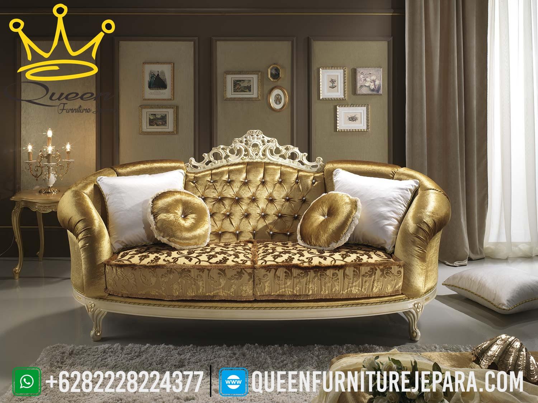 Harga Sofa Mewahmodel Kursi Tamu Mewah Queen Furniture Jepara