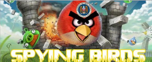 aves espionagem Rovio hackear