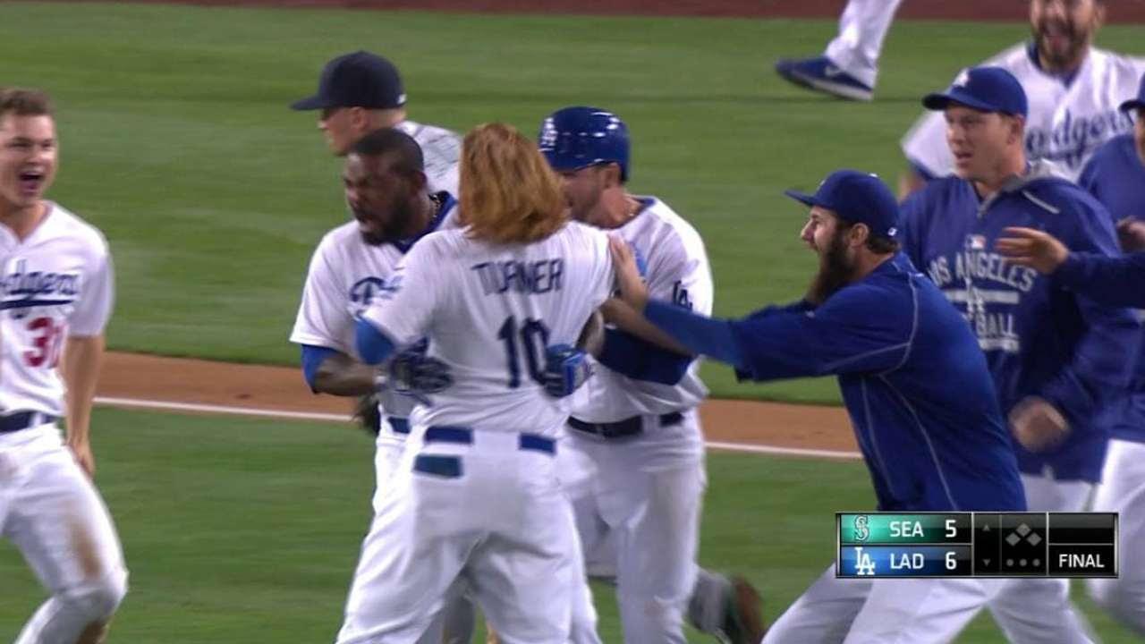 Kendrick, Dodgers volvieron a dejar tendidos a Marineros