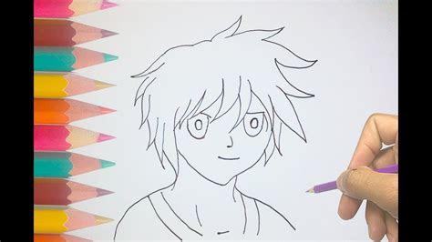 draw  anime boy cool anime drawings hd