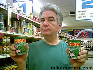 Mike and Popeye Spinach