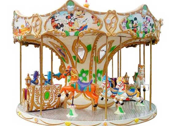 Carousel ride for sale with 8 seat
