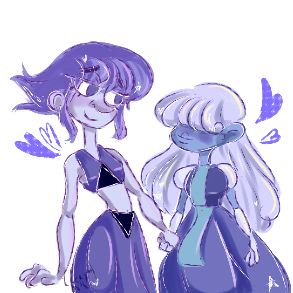 ♦ blue gfs ♦ a lil thing i made for @rvpphire and their cute gf @lapphire they are my fav blogs ♥♥♥