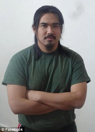 Convert: Sinh Vinh Ngo Nguyen, who changed his name to Hasan Abu Omar Ghannoum when he converted to Islam, has been indicted on two counts of trying to support Al Qaeda and making false statements on his passport