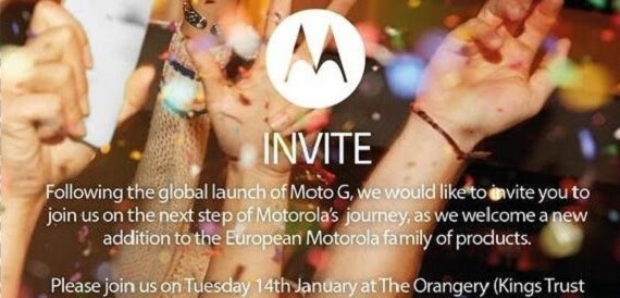 Motorola UK event