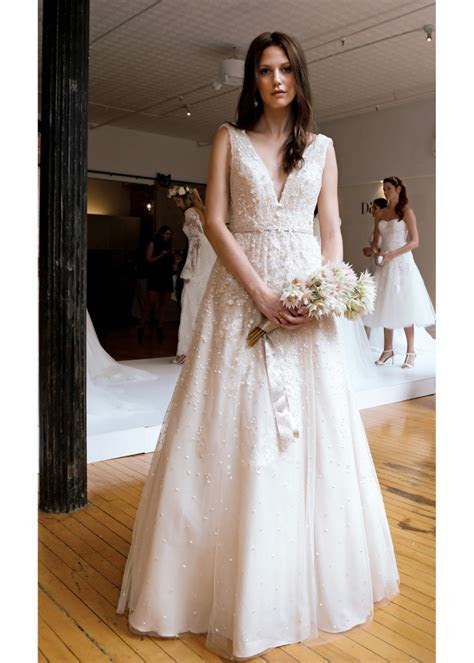 Melissa Sweet Vintage Sleeveless A Line Wedding Gown