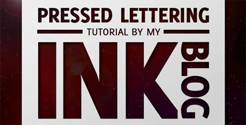 10 Wonderful Letterpress Type Tutorials