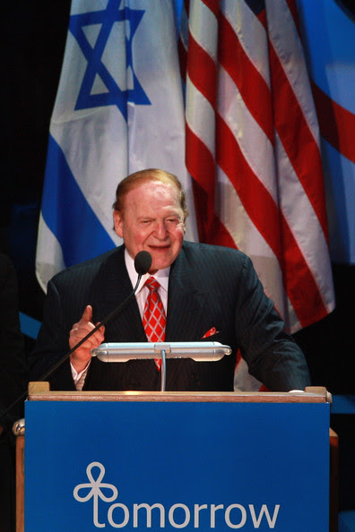 Sheldon Adelson - Casino Tycoon Sheldon Adelson Questioned In Olmert Bribery Scandal