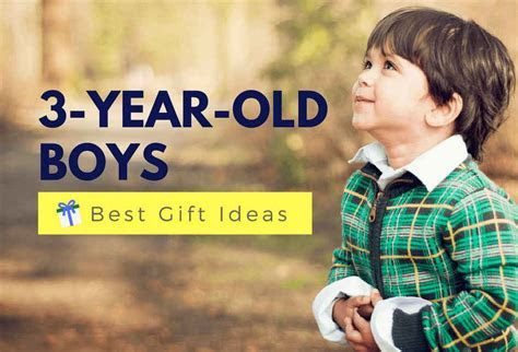 Best Gifts For A 3 Year Old Boy   Fun & Educational