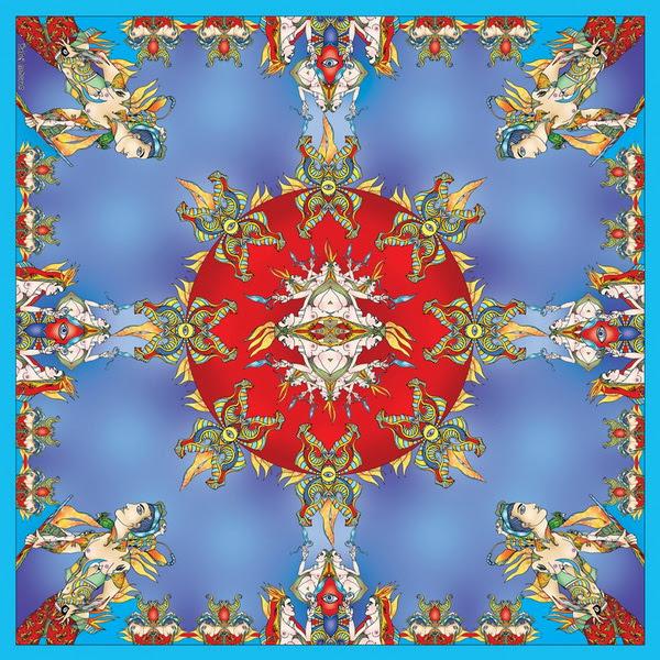 Красивые вещи: дизайнерские платки Sofia Gritsyuk