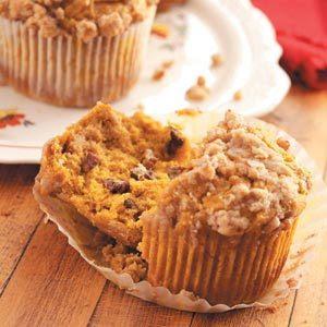 Pecan Pumpkin Jumbo Muffins
