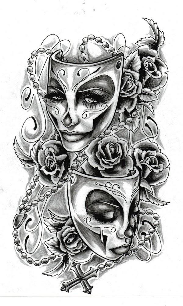 72 Best Tattoo Design Drawings [2017] - Piercings Models