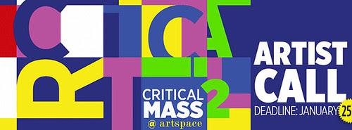 Critical Mass 2 deadline Jan 25 by trudeau