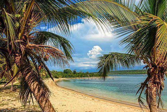 Fotografía de archivo de las playas del Ramón de Antilla, ubicada en el municipio de Antilla, provincia de Holguín, Cuba. ACN FOTO/Juan Pablo CARRERAS