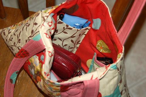 Wonderland Bag - inside
