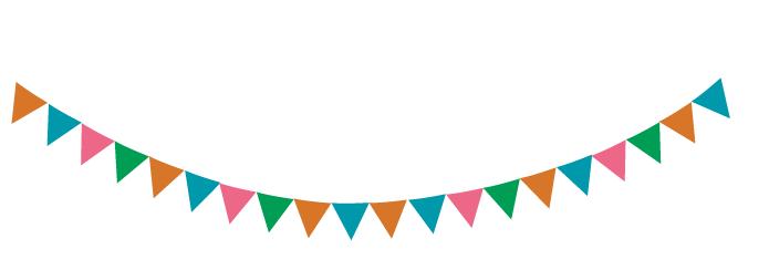 ガーランド素材 万国旗 フリー素材 ブログ