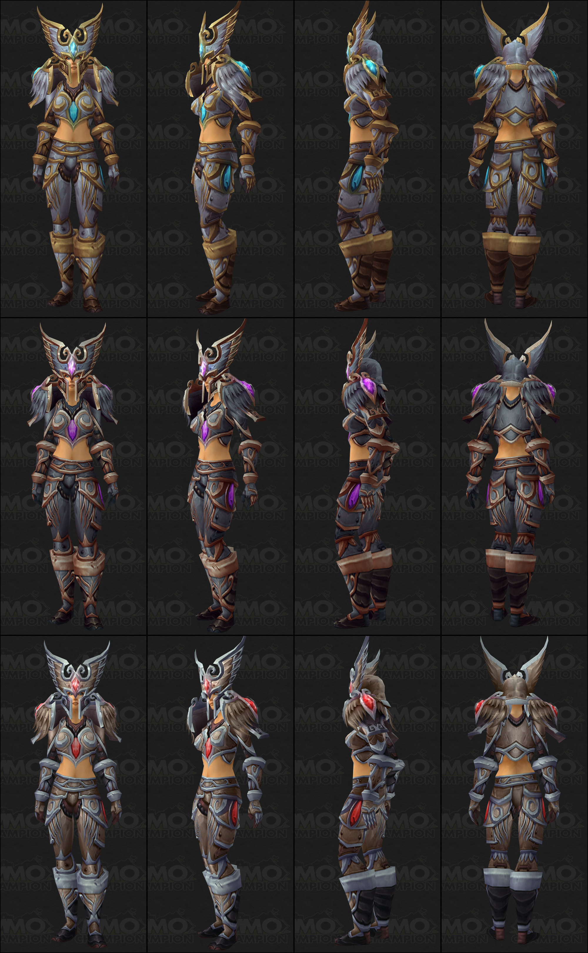 Infos MMO-Champion Tier 13 Armor Sets - Model Preview - World Of Warcraft : Warlords Of ...