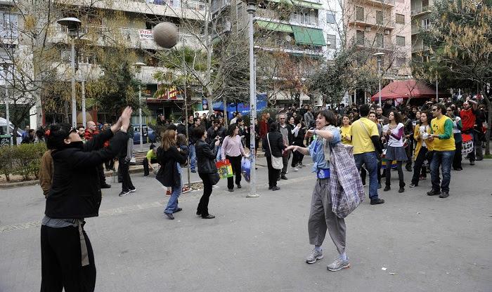 Εκδηλώσεις στο Πάρκο Ναυαρίνου και την Πλατεία Εξαρχείων
