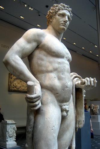 NYC - Metropolitan Museum of Art - Youthful Hercules