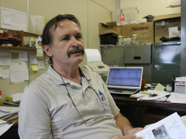 Pesquisador afirma que estudos em Manaus começaram mais de uma década antes de os experimentos serem colocados em prática (Foto: Camila Henriques/G1 AM)