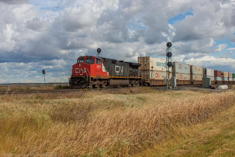 CN 2676 in Winnipeg