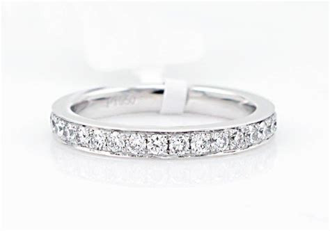 SKU107867 Bright Cut Diamond Eternity Band: diamonds are