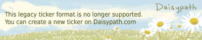 Daisypath Wedding Ticker