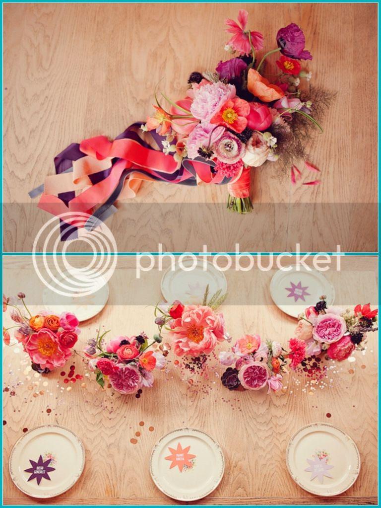 C'è crisi, c'è crisi, guida alla sopravvivenza sul pianeta terra, linky party, bouquet messicano, idee di home decor con i fiori, fiesta stile mexiacan, fiori sgargianti, decorare con i fiori, fiori in giardino, riciclo creativo, idee per matrimonio, flower power