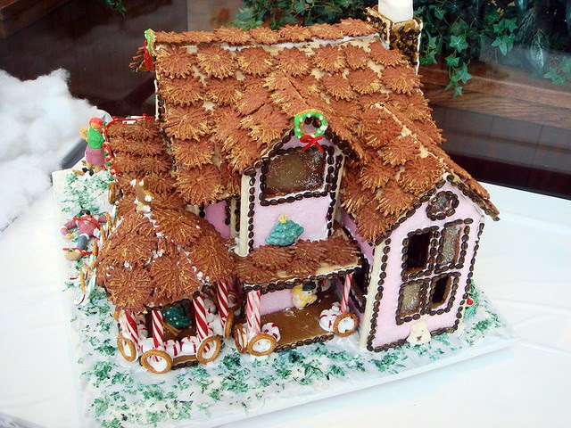 gingerbread house 2010