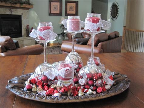An easy and inexpensive valentine's day centerpiece made