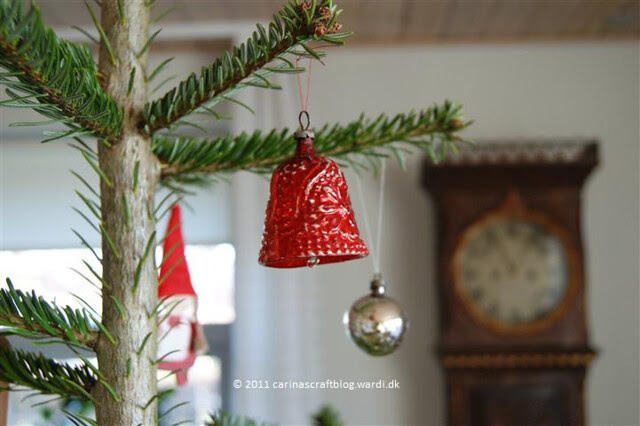 Old glass bell