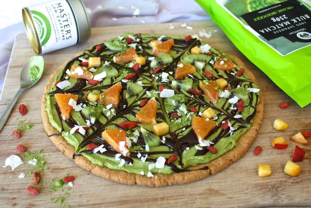 Matcha Halloween Cookie Pizza – DōMatcha - Buy Matcha ...
