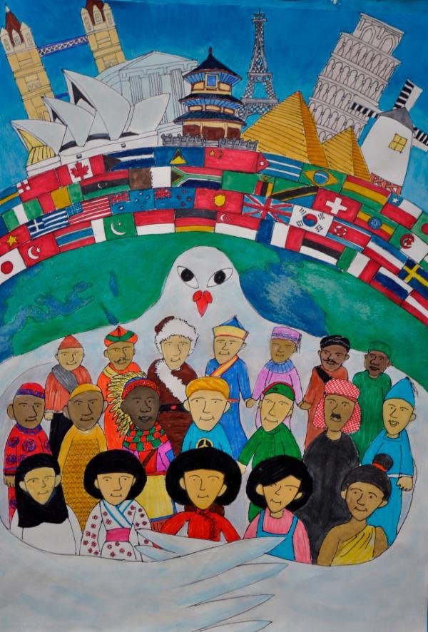 Art for Peace Contest: World Peace