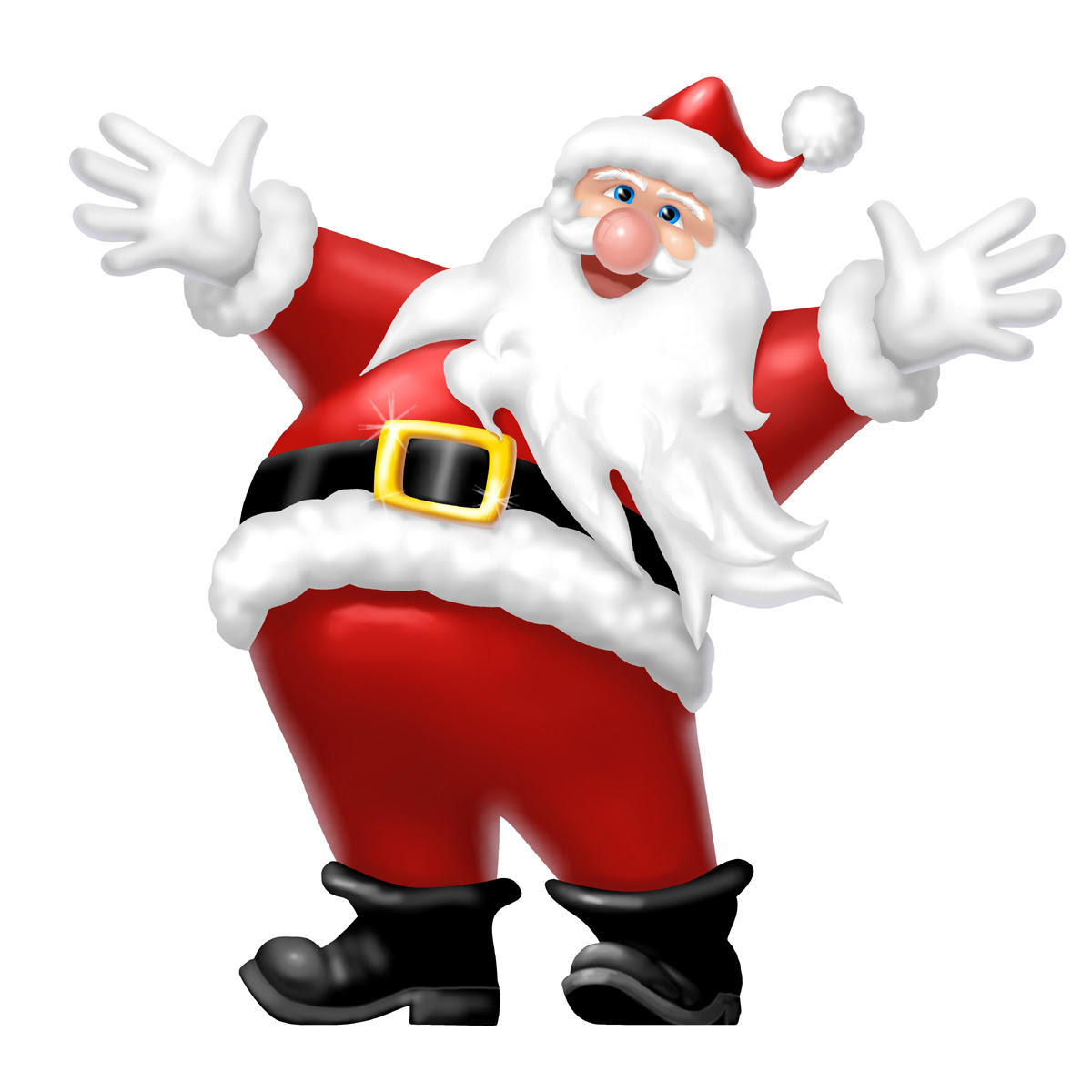 Santa Claus Animated Christmas Wallpaper Find Wallpapers