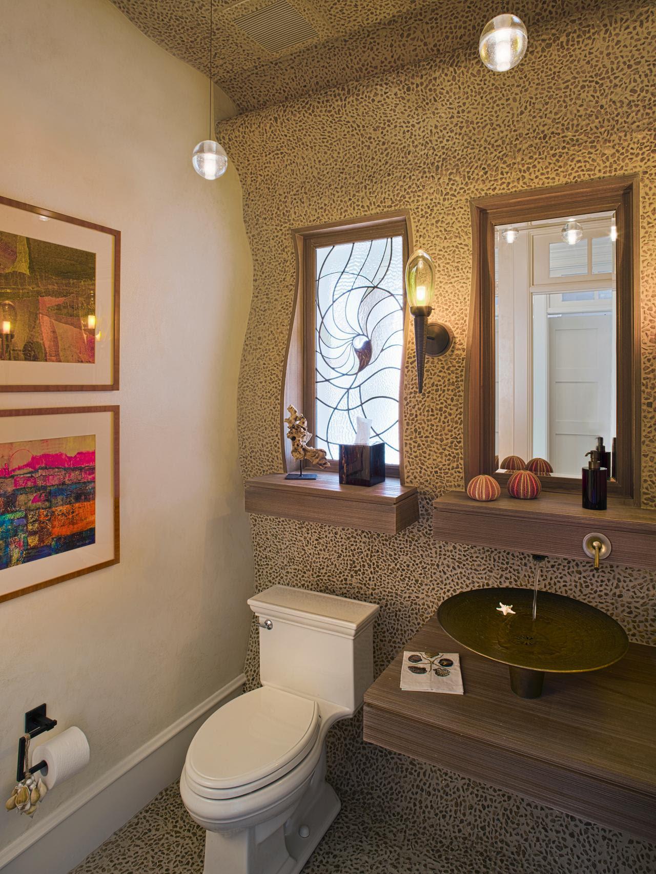 Beach & Nautical Themed Bathrooms: HGTV Pictures & Ideas ...