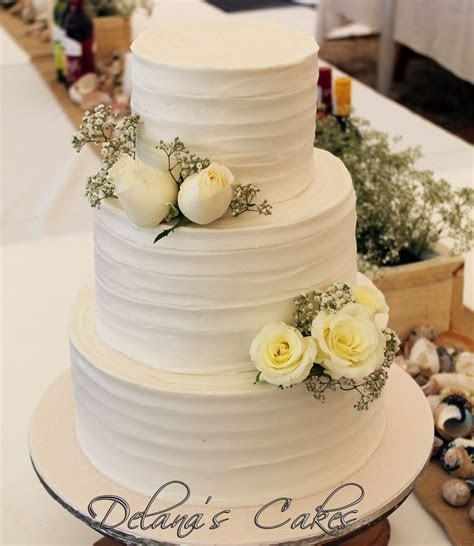 Delana's Cakes: Textured icing Wedding cake